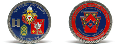 makecoins com : Customized Army Challenge Coins