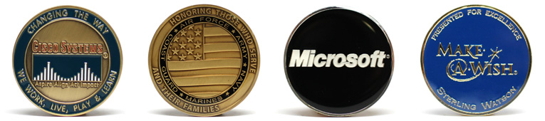 Customized Corporate Coins