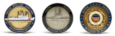 Customized Coast Guard Challenge Coins