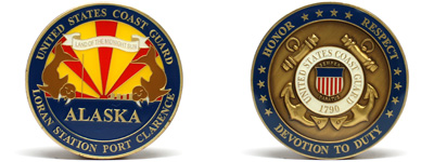Challenge Coast Guard Coins