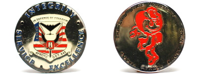 Customized Collegiate Coins