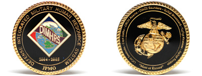 Customized Marine Coins