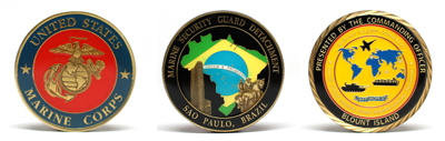 Customized Marine Challenge Coins