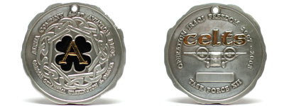 Challenge Special Shaped Coins